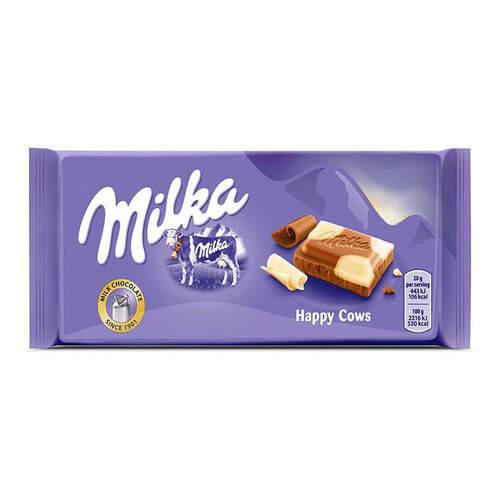 Milka Tablet Happy Cows 100 Gr.