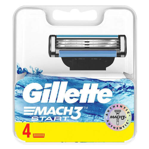 Gillette Mach 3 Start Bıçak 4'lü