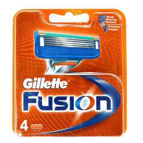 Gillette Fusion 4'lü Traş Bıçağı