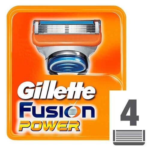 Gillette Fusion Power 4'lü Traş Bıçağı