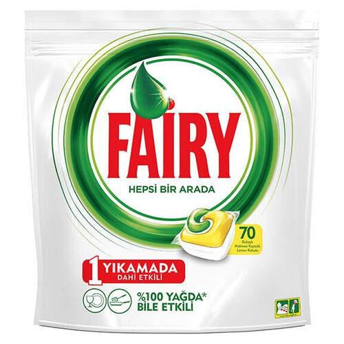 Fairy Hepsi Bir Arada 70'li Tablet Sarı