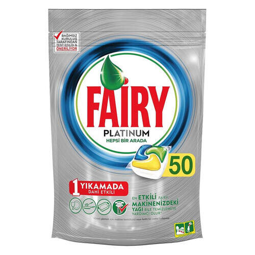 Fairy Platinum Kapsül Limon 50'li Paket