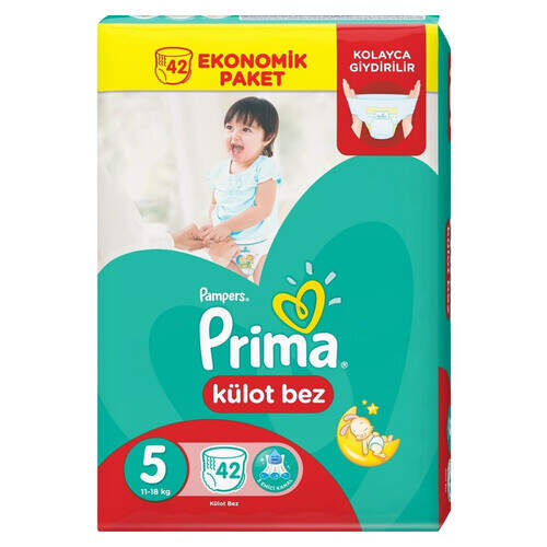 Prima Pants Kilotlu Jumbo Junior 42'li