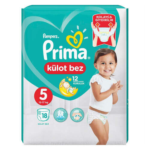 Prima Pants Kilotlu Junior Tekli 18'li