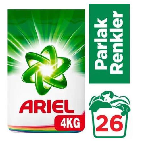 Ariel Parlak Renkler 4000 Gr.