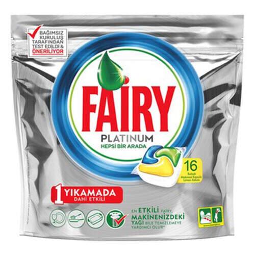 Fairy Platinum Makina Kapsül Yeni 16'lı Paket