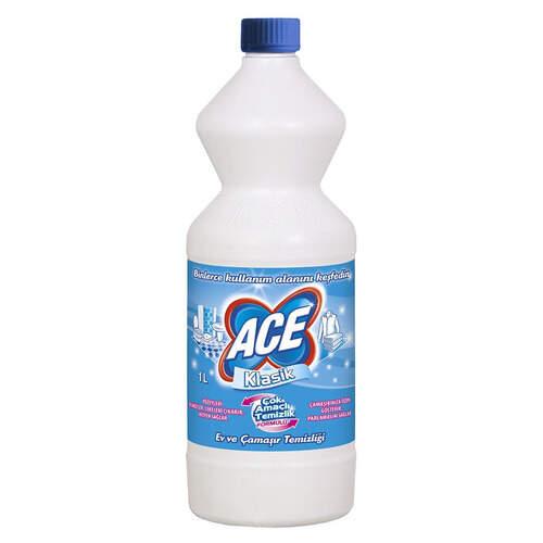 Ace El Ve Matik Çamaşır Suyu Klasik 1000 Ml.