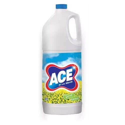 Ace El Ve Matik Çamaşır Suyu Bahar 4000 Ml.