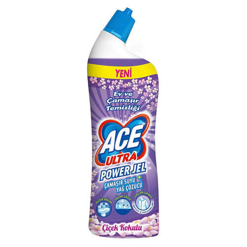 Ace Ultra Power Çiçek Kokulu Jel 810 Ml.
