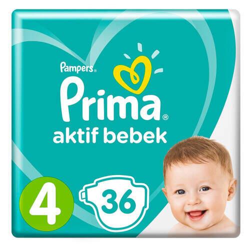 Prima Aktif Plus İkiz Maxi 36'lı