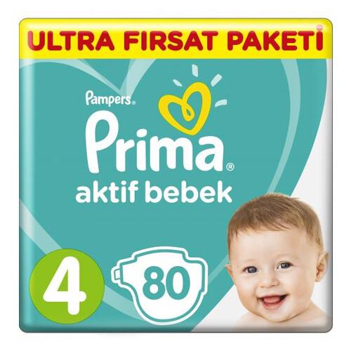 Prıma Actıve Ultra Fırsat Paketi Maxı 80 Lı