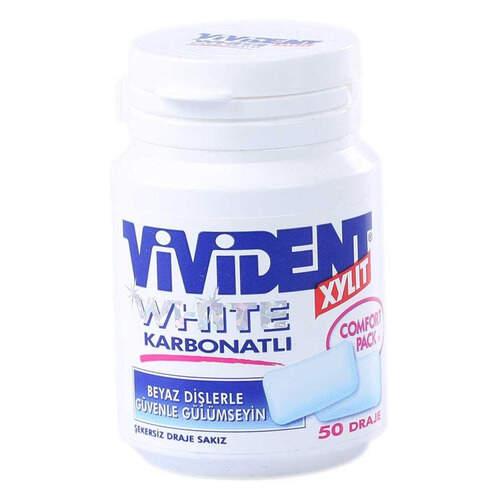Vivident White Karbonatlı Draje Sakız 70 Gr.