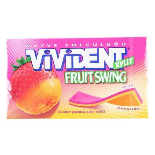 Vivident Fruit Swing Çilek Mandalina 26 Gr.