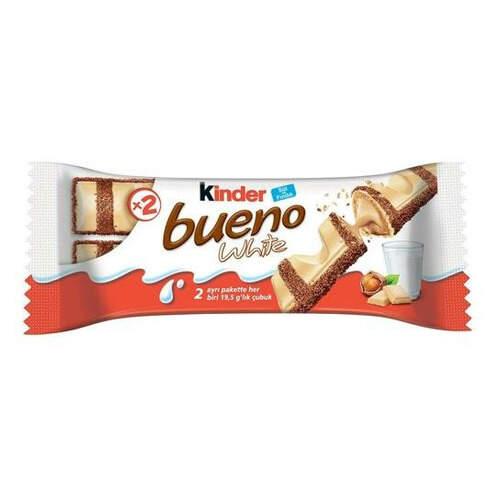 Kinder Bueno Beyaz Çikolata 39 Gr.