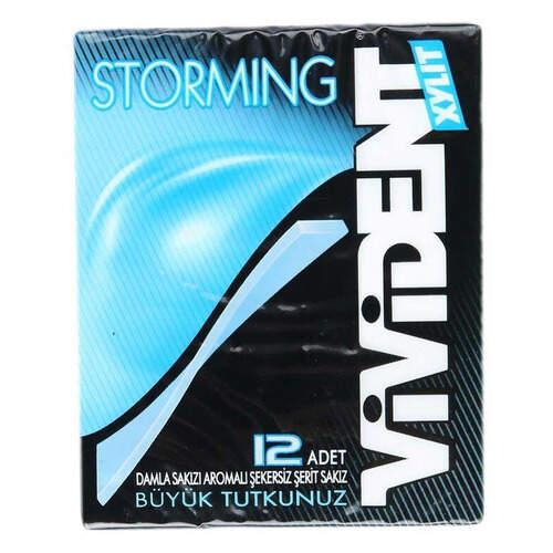Vivident Storming Damla Sakızı Aromalı 33 Gr.