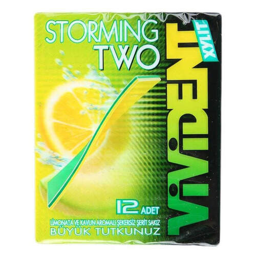 Vivident Storming Limonata Ve Kavun Aromalı 33 Gr.