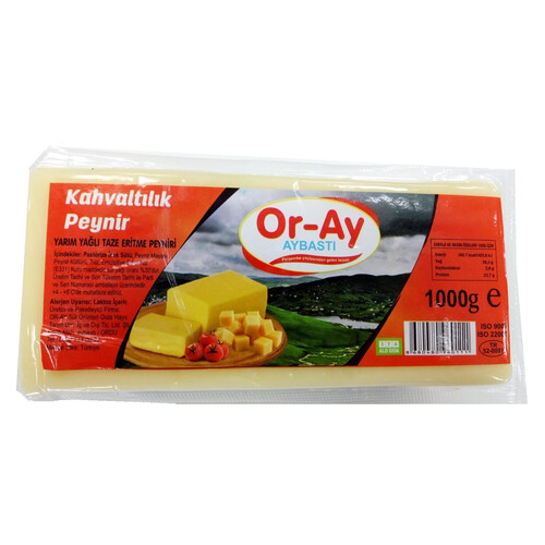 Oray Kahvaltılık Peynir 1000gr.