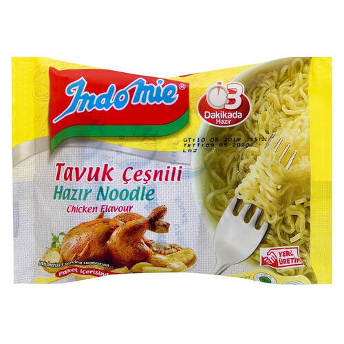 İndo Mie Paket Tavuk Noodle 70 Gr.