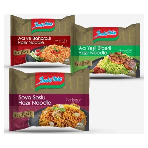 Indo Mıe Gurme Soya Soslu Noodle 80gr