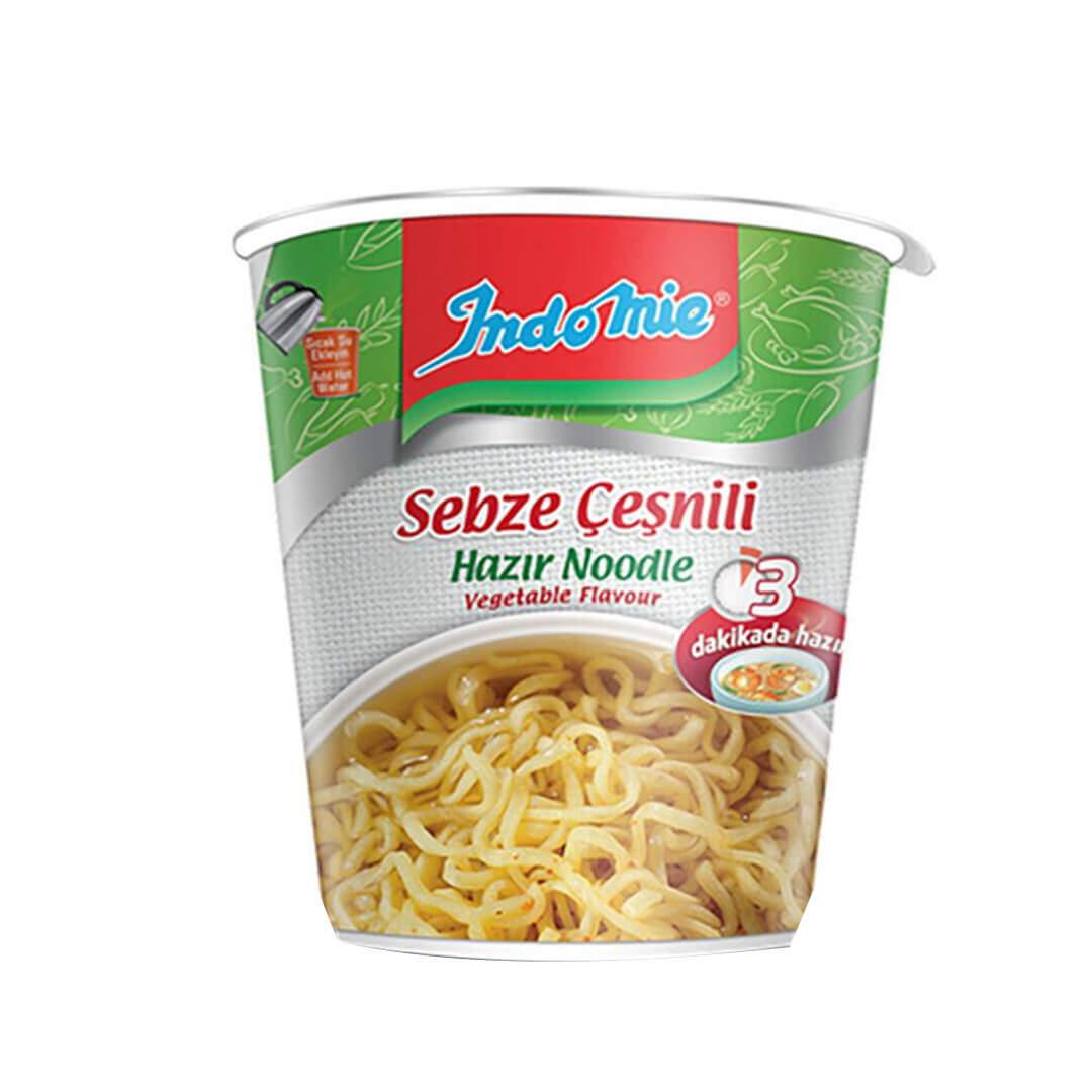 İndo Mie Bardak Sebzeli Noodle 60 Gr.