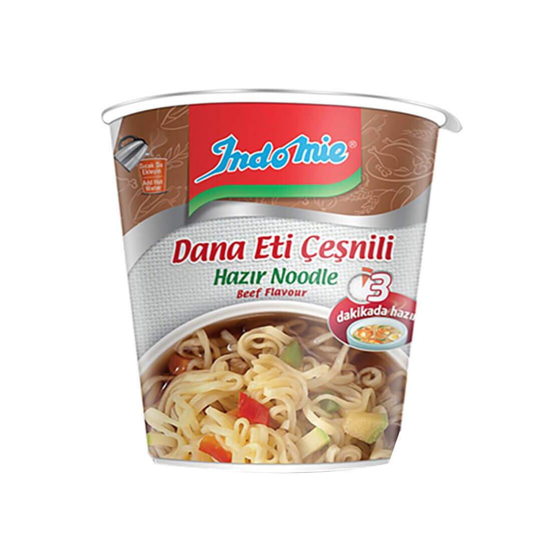 İndo Mie Bardak Etli Noodle 60 Gr.