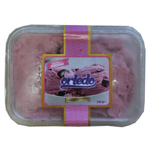 Orledo Vişneli Dondurma 250 Gr.