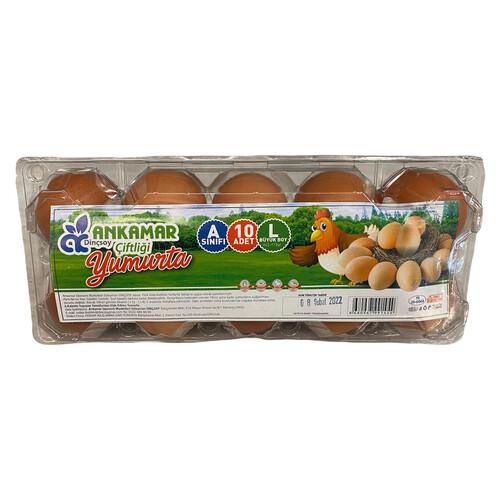Ankamar Çiftliği 10lu Yumurta