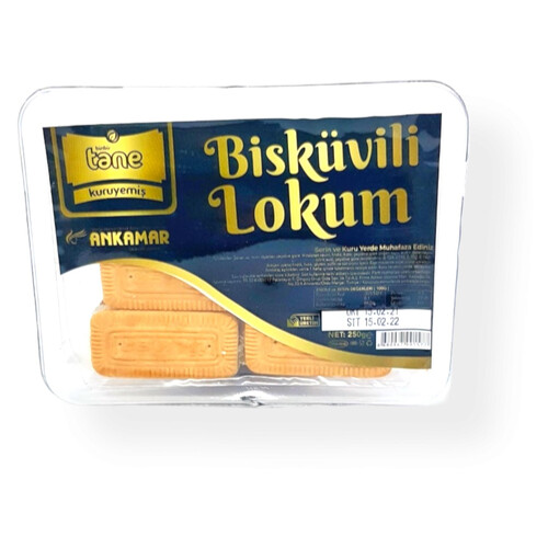 Binbir Tane Bisküvili Lokum 250 Gr