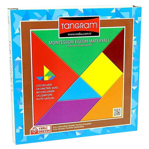 Akıl-zeka Renkli Tangram (3 Yaş Ve Üzeri İçin)