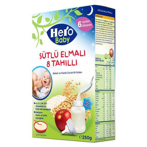 Ülker Hero Baby Sütlü Elmalı Tahıllı Bisküvili 200 Gr.