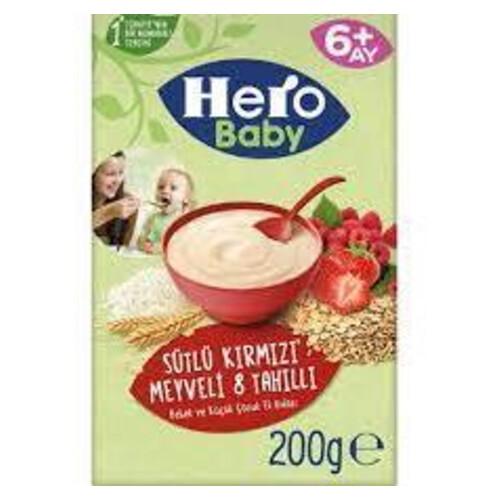 Ulker Hero Baby 200gr.kırmızı Meyve 8 Tahıl