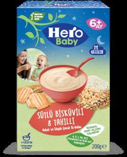 Ülker Hero Baby Sütlü Bisküvili Tahıllı 200 Gr
