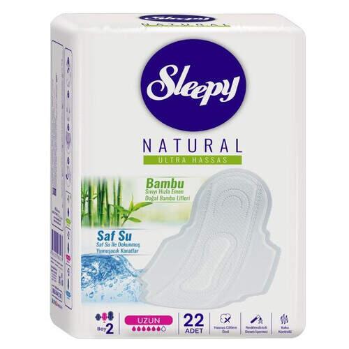 Sleepy Natural Gece Ped 22'li