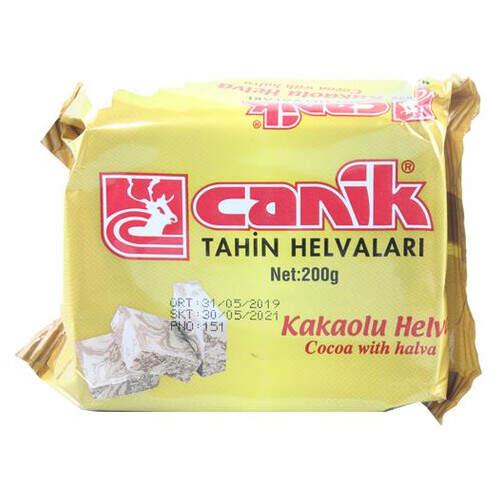 Canik Kakaolu Helva 200 Gr.