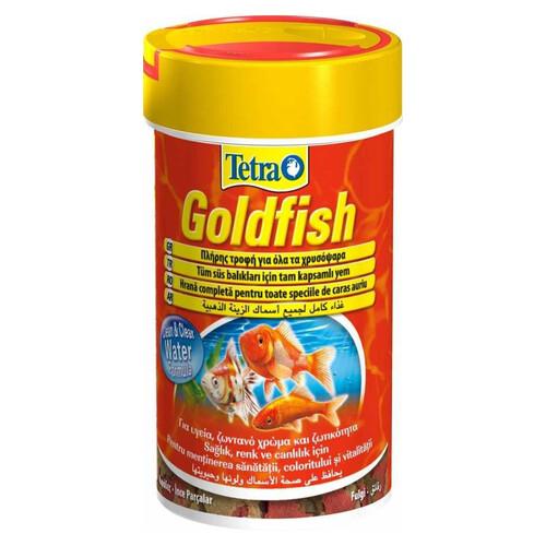 Goldfısh Mıx ( Japon )granül Balık Yemı 100 Ml.