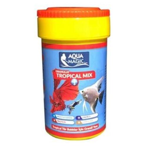 Tropıcal Mıx ( Tüm Türler ) Granül Balık Yemı