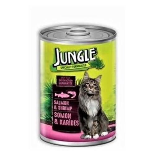 Jungle Kedi Konservesi 415gr.somonlu-karidesli