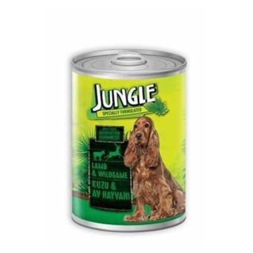 Jungle Köpek Konservesı  415 Gr Kuzu Etlı-av Hayva