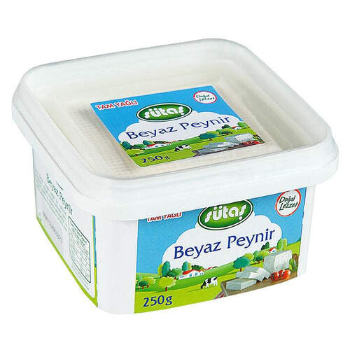 Sütaş Tam Yağlı Beyaz Peynir 250 Gr.