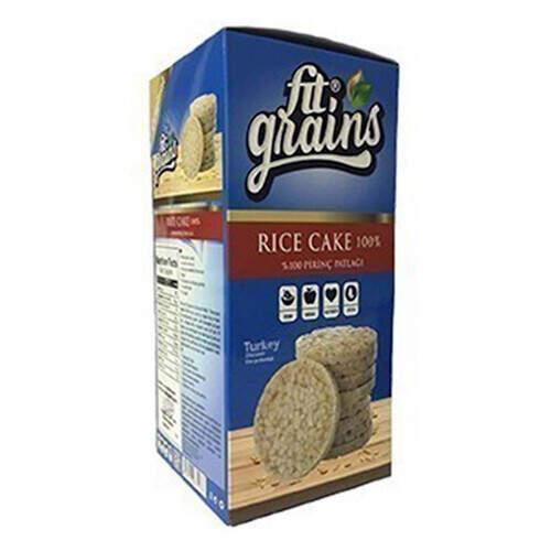 Fit Grains Rice Cake %100 Pirinç Patlağı 160 Gr.