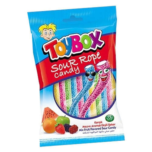 Toybox Sour Rope 80gr.