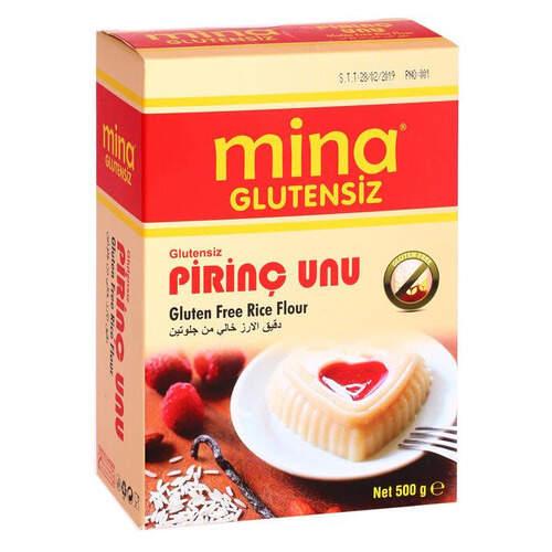 Mina Glutensiz Pirinç Unu 500 Gr.