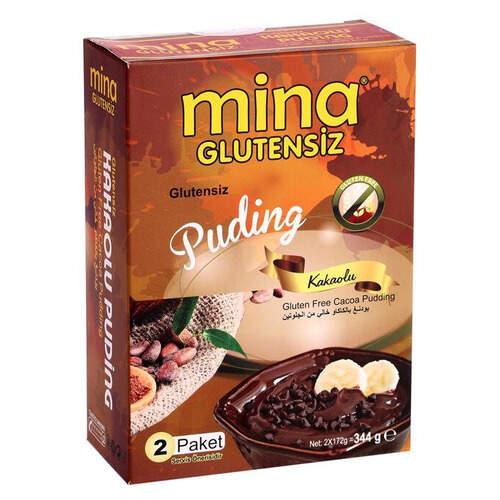 Mina Glutensiz Kakaolu Puding 344 Gr.