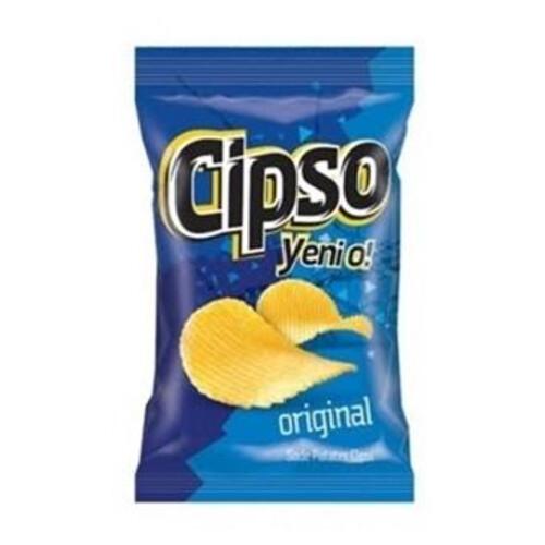 Cipso Orijinal Tırtıklı Sade Patates Cips 120 Gr