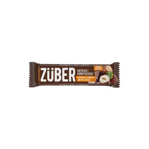 Zuber Fındıklı Kakaolu Bar 40 Gr