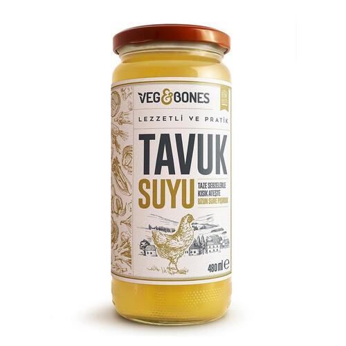 Veg&bones Tavuk Suyu 480ml.