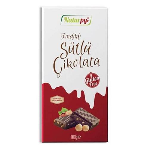 Naturpy Glutensiz Sütlü Çikolata 100gr.