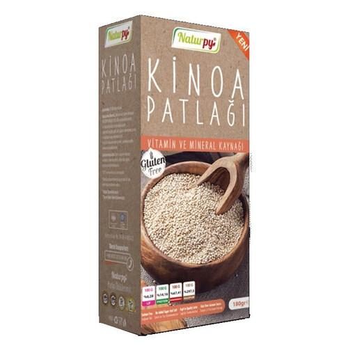 Naturpy Glutensiz Kinoa Patlagi 180gr.