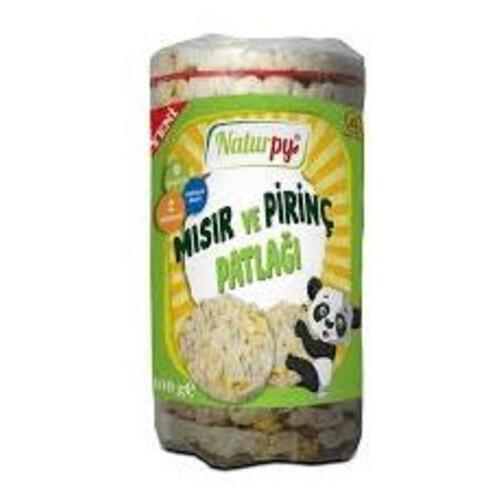 Naturpy Misir Ve Pirinç Patlagi 100gr.glutensiz