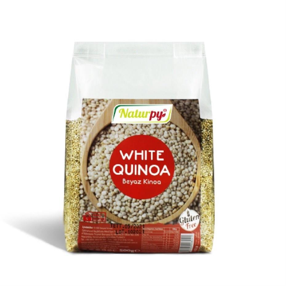 Naturpy Beyaz Kinoa 500gr.glutensiz